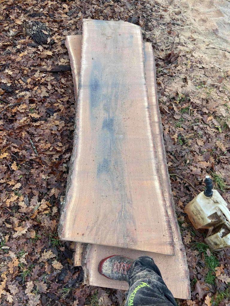 Plateaux de bois pour meuble intérieur ou extérieur.